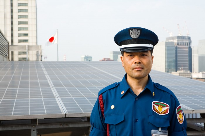 PV system at Ministry of Economy, Trade and Industry METI, Tokyo