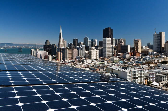 Rooftop pv system, San Francisco